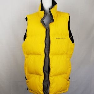 Vintage Nautica Competion Reversible Puffer Vest